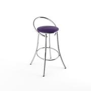 Барный стул Фуриант фиолетовый-873