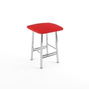 Табурет Кухонный красный матовый-803м